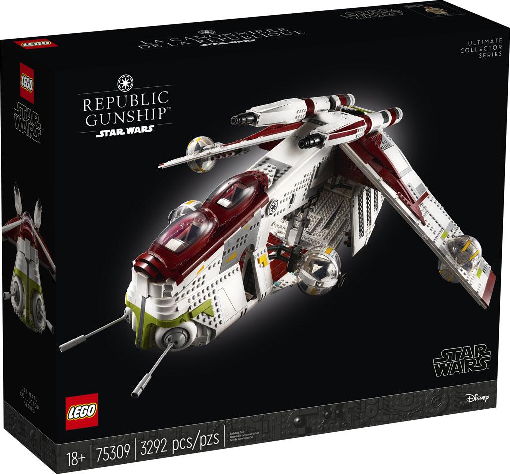 LEGO Star Wars UCS Cannoniera della Repubblica (75309)