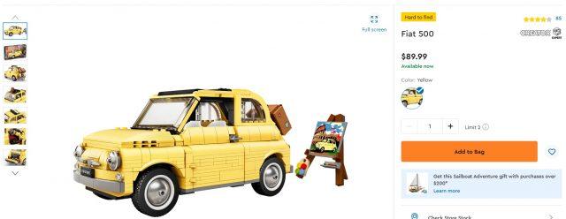 LEGO-Creator-Fiat-Color-Scheme