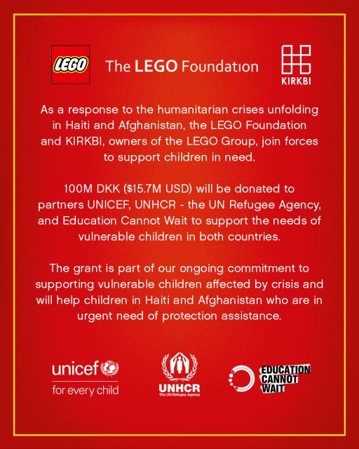 LEGO-KIRKBI-Donation