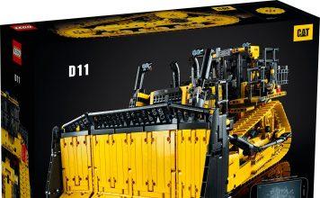 LEGO Technic App-Controlled Cat D11 Bulldozer (42131)