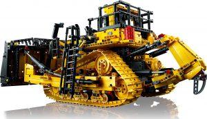 LEGO Technic Bulldozer Cat D11 Controllato da App (42131)