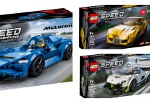 Recensione LEGO Speed Champions 76900 - Koenigsegg Jesko, 76901 - Toyota GR Supra, 76902 - McLaren Elva