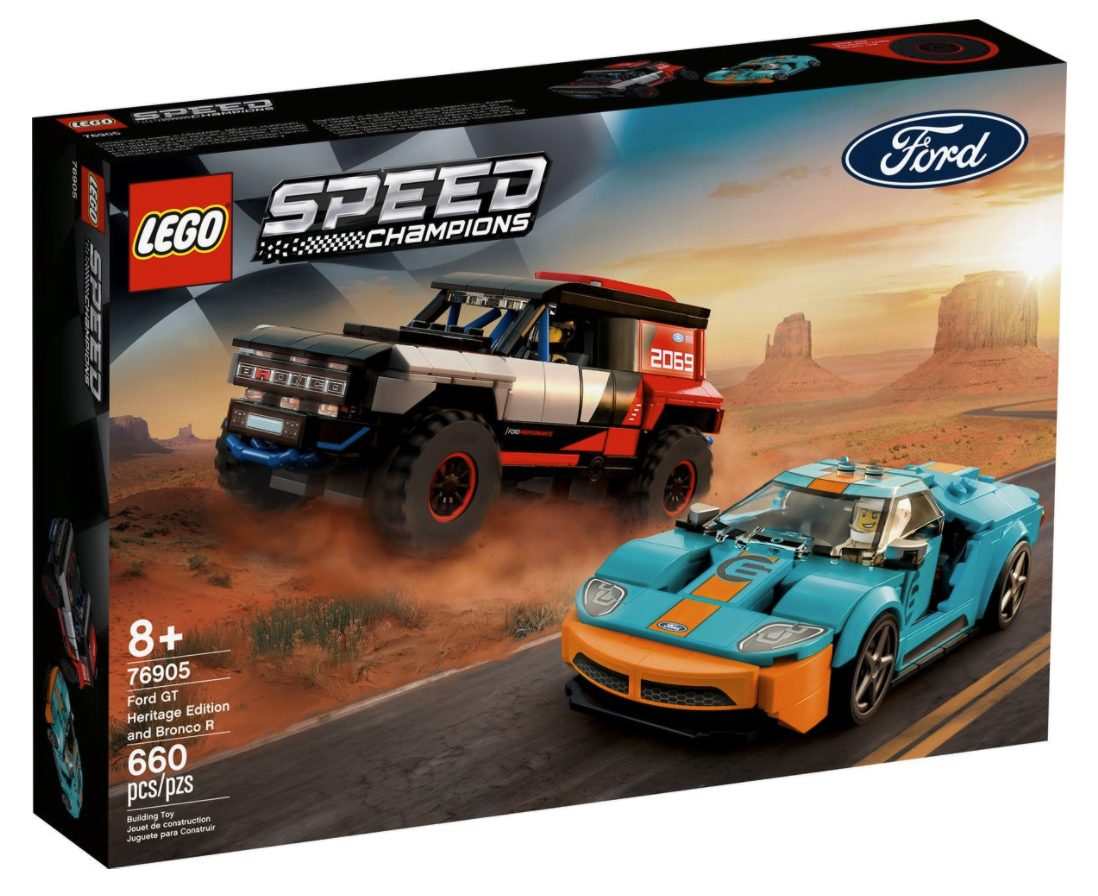 Ford GT Heritage Edition e Bronco R (76905)