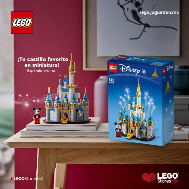 LEGO-Mini-Disney-Castle-40478-Mexico