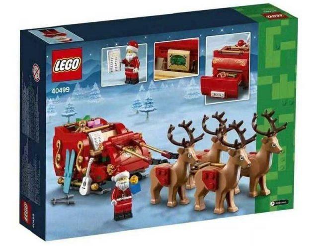 LEGO-Seasonal-Santas-Sleigh-40499