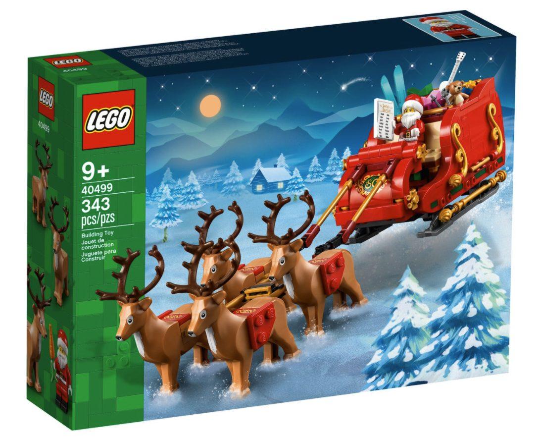 La slitta di babbo Natale (40499)
